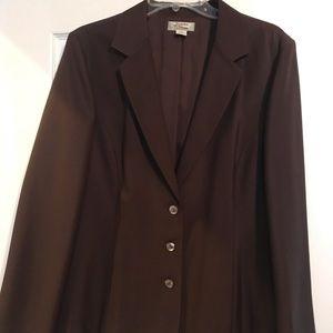 Tommy Bahama Brown silk Jacket